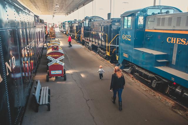 Virginia-Transportation-Museum-Trains