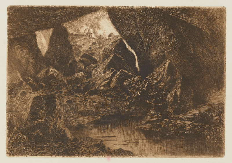 Eugene Viala - The Cave, 1880-1909