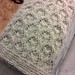 Blanket for Jessica's baby, folded