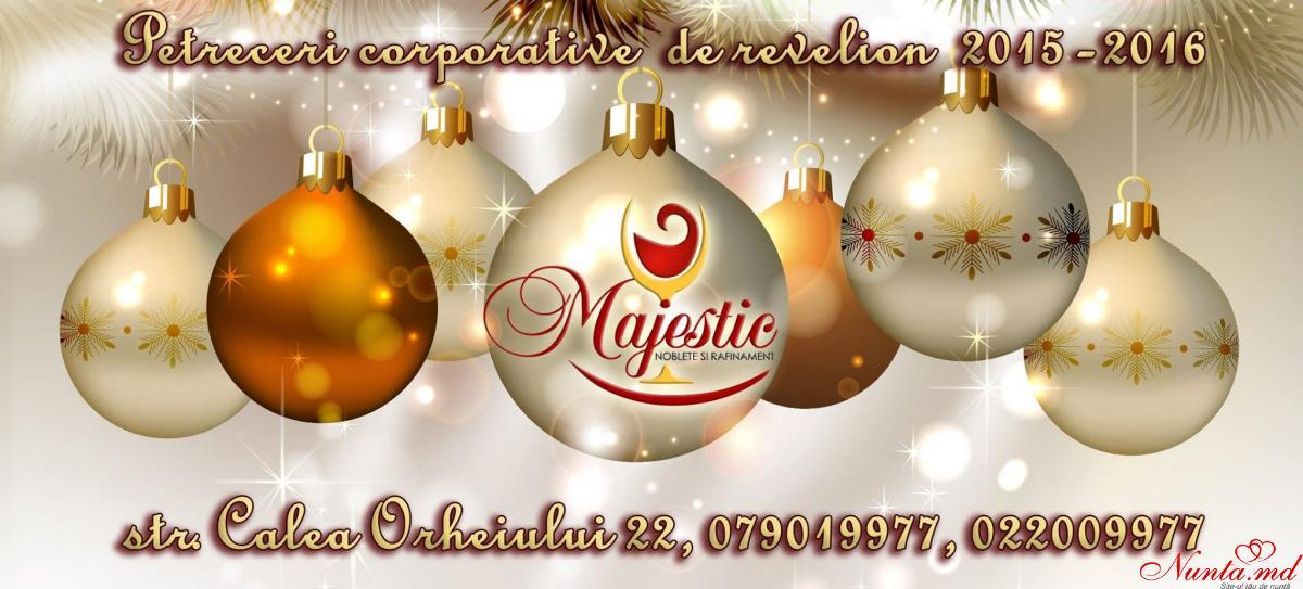 """""""MajestiC"""" - современно, оригинально, доступно!  > Новогодний корпоратив в ресторане """"MajestiC"""""""