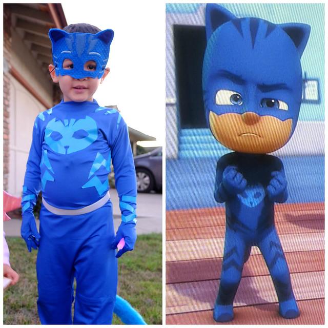 Vincent Halloween 2015 - Catboy PJ Masks