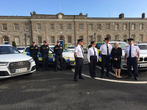 Minister Fitzgerald attends the launch of the new Garda operation 'Thor' to tackle urban and rural crime
