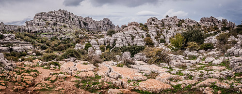 Rocks of El Torcal, Antequera Spain