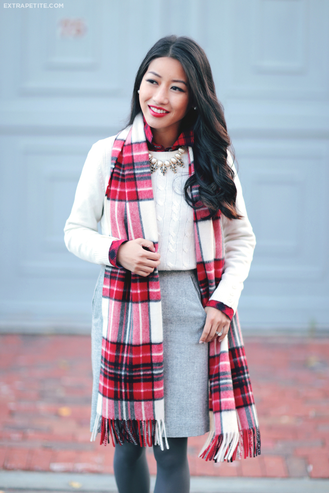 Cozy layering + Talbots Friends & Family sale