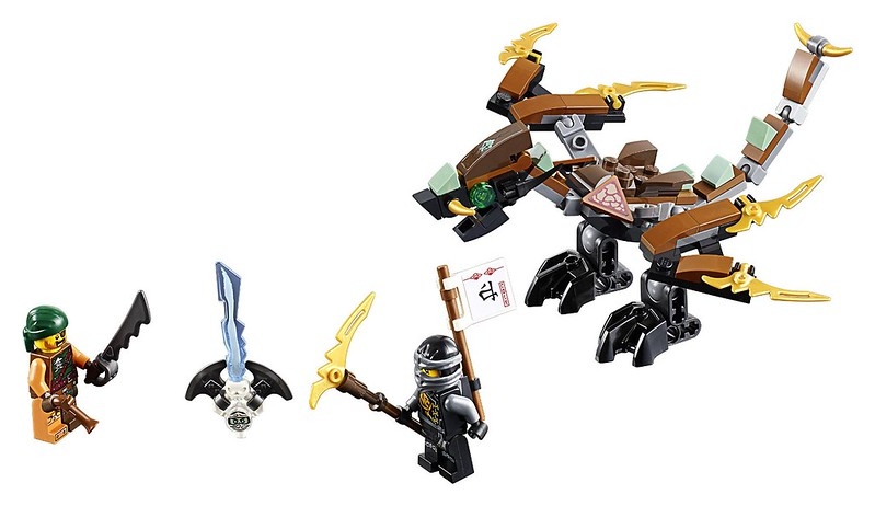 LEGO Ninjago 2016 | 70599 - Cole's Dragon
