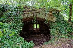 Aisne - Ruines de la carrière et de la ferme de Confrécourt