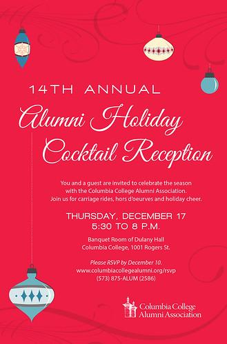 2015 Alumni Holiday Cocktail Reception