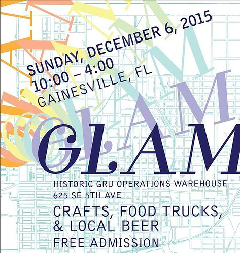 Gainesville Florida and surrounding areas - what are you doing this Sunday, December 6th, from 10-4 PM? Are you interested in locally brewed beer, food trucks, and free admission into the area's most awesome indie craft show? I THOUGHT YOU WERE. So get on
