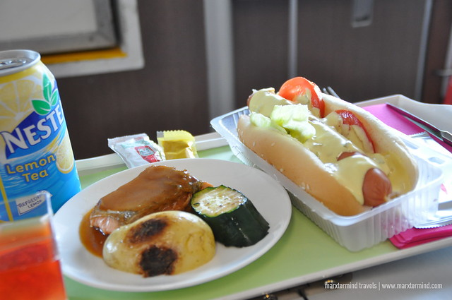 Premier Grand Class TurboJET Onboard Lunch and Snacks