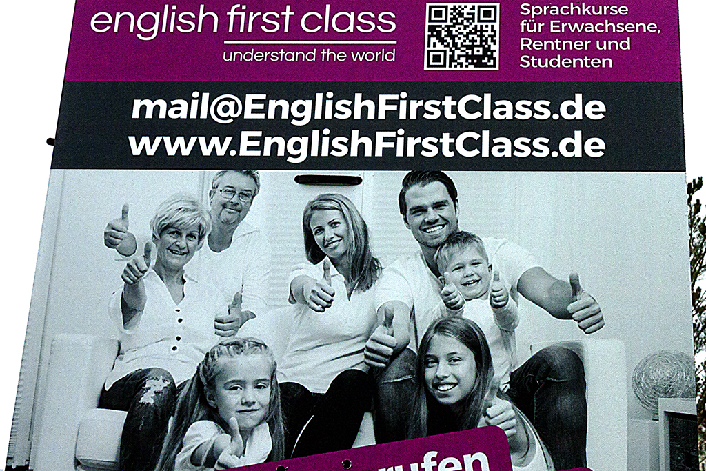 english first class--Leipzig (detail)