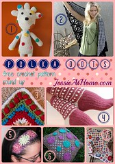 Polka Dot - free crochet pattern round up from Jessie At Home