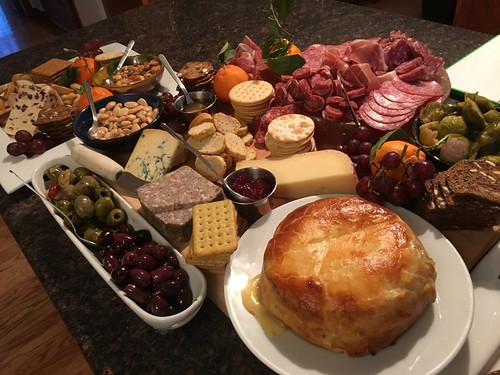 Christmas Cheese/Salami Platter