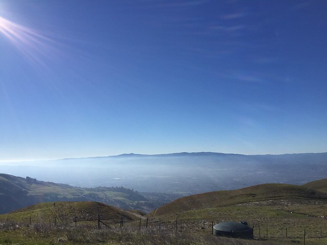 Top of Sierra Rd.