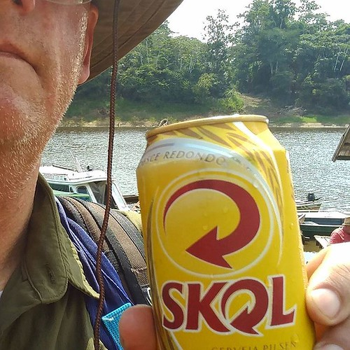 Mad dogs and librarians go out in the Brazilian sun. Skol!  #Brazi