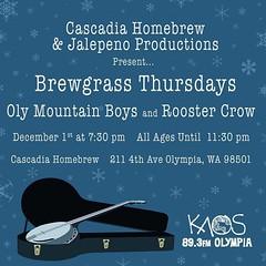 Last show of 2016! #Brewgrass #bluegrass #Americana #homebrew #happynewyear