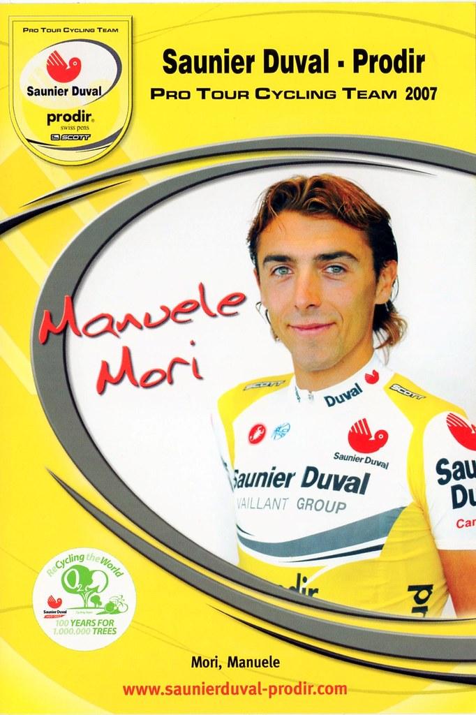 Manuele Mori - Saunier Duval Prodir 2007