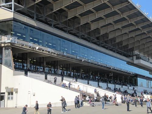 金沢競馬場のスタンド