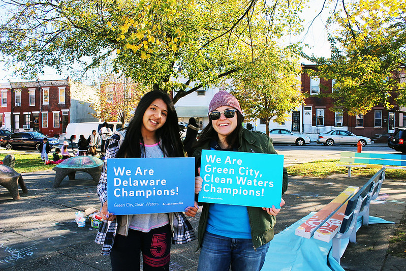 VISTA and Volunteers at Weinberg Park