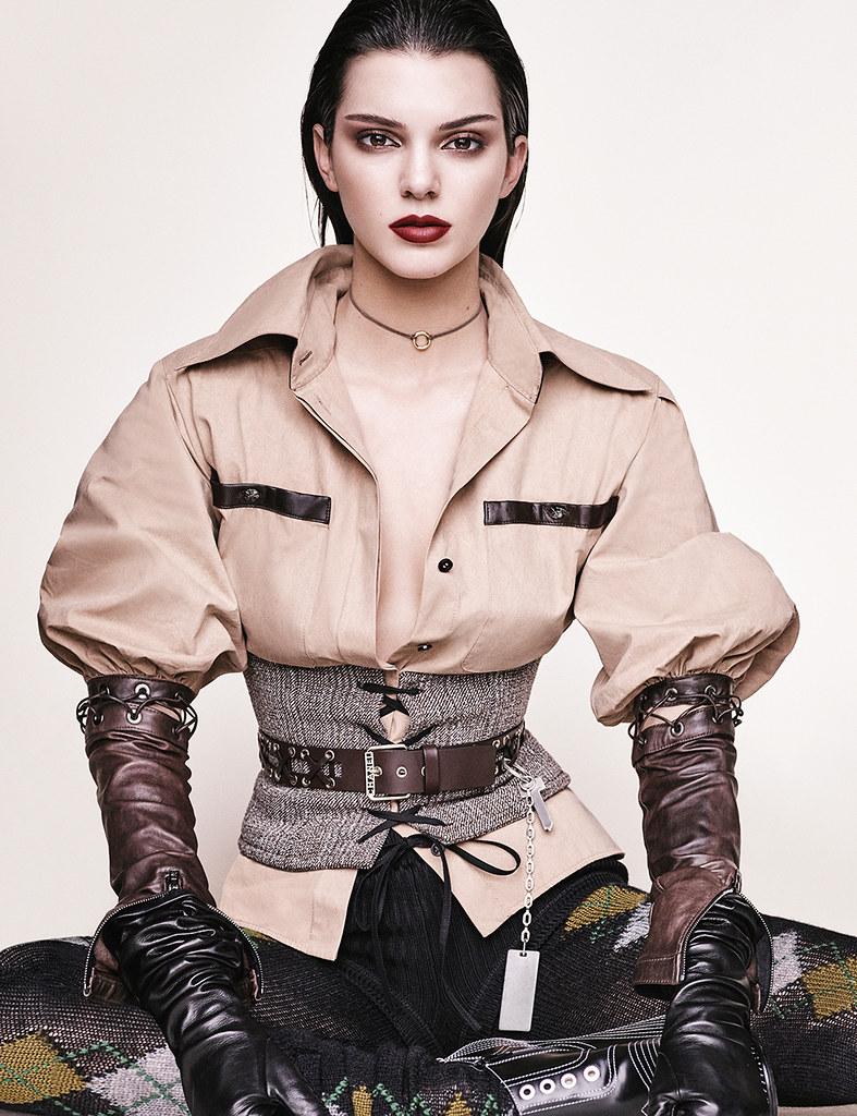 Кендалл Дженнер — Фотосессия для «Vogue» DE 2016 – 9