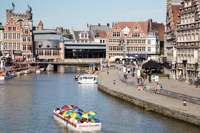 De Bootjes Van Gent Belgium #ユーレイル