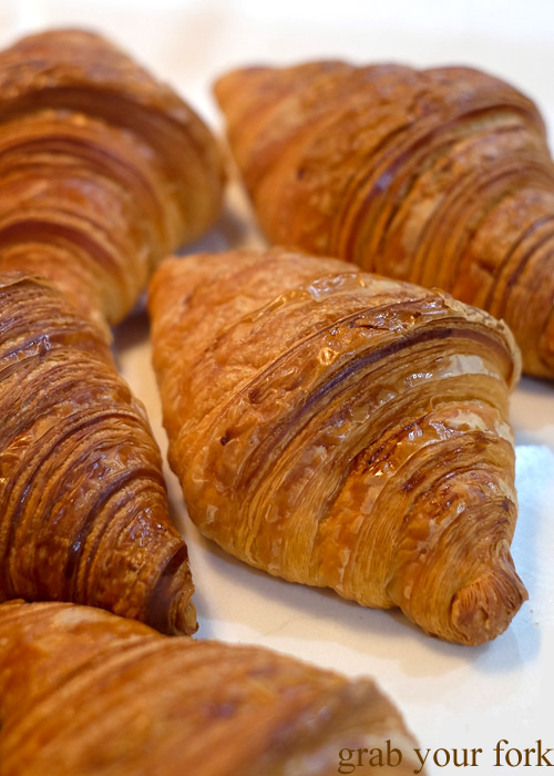 Croissants at Textbook Boulangerie Pattiserie, Alexandria