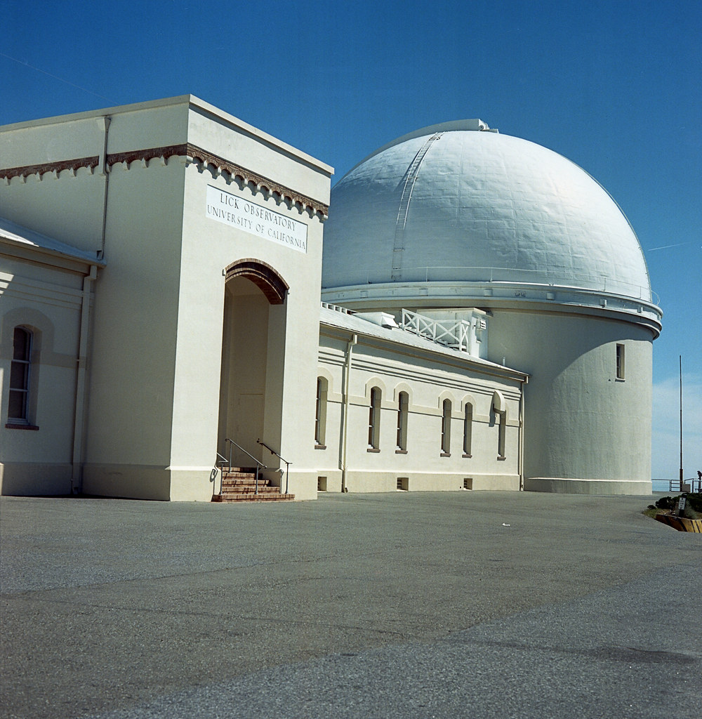 Lick Observatory Refractor Dome 4-29-15