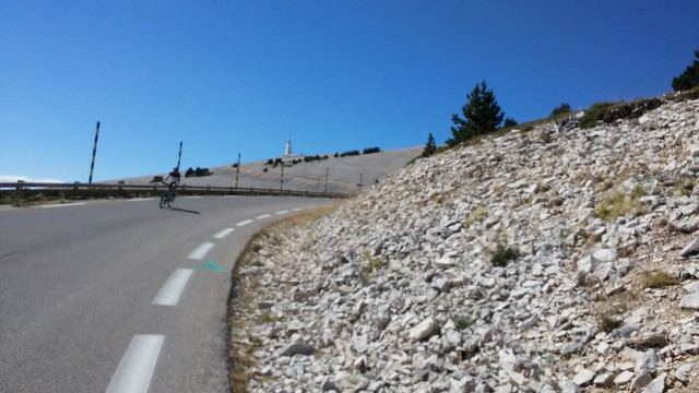 Ventoux climb