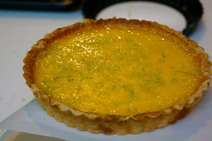 pie, pastry, yellow, baked goods, custard pie, tart, food, dish, dessert, cuisine, quiche,