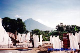 Laundry day Antigua Guatemala
