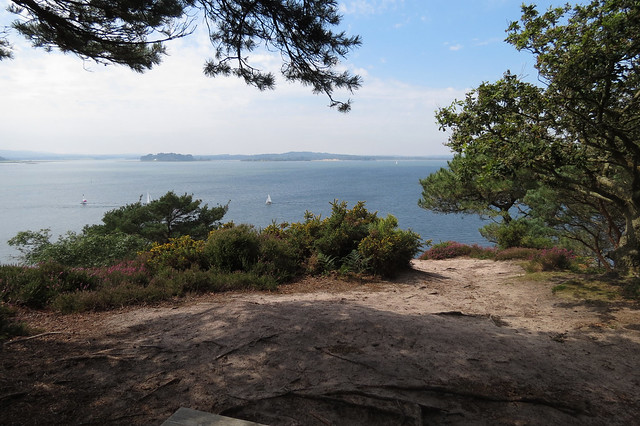 View from Brownsea Island