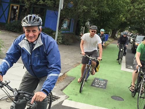 Mayor Hales' first bike commute-6.jpg