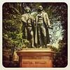 Goethe & Schiller #meetup in Golden Gate Park #sanfrancisco :book: