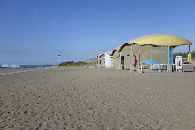 夏の終わり1 小舞子海岸