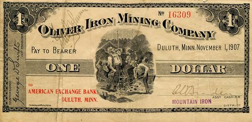 Oliver Iron Mining-front