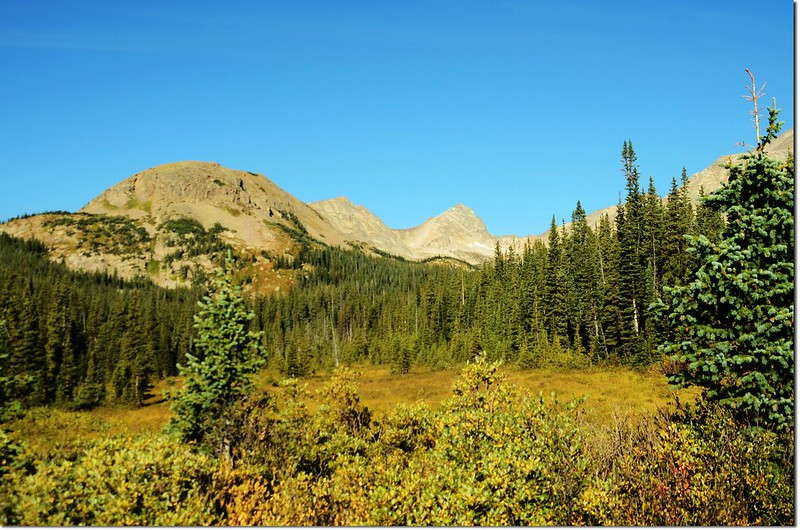 Mount Toll(M) from near Mitchell Lake Trailhead