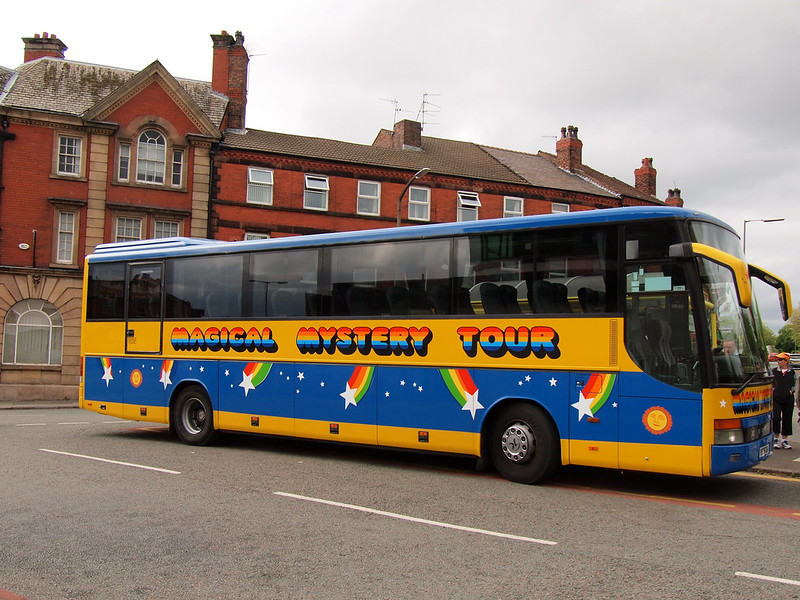 Magical Mystery Tour in Liverpool