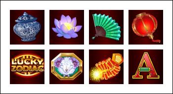 free Lucky Zodiac slot game symbols