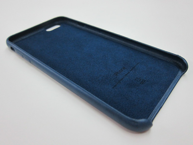 Apple iPhone 6s Plus Leather Case (Midnight Blue)