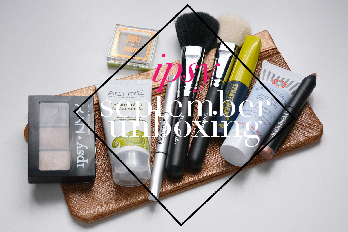 It's Finally Here! What's in my Ipsy September 2015 Bag + Extras!
