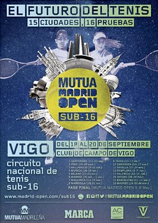 Mutua Madrid Open Sub 16 de Vigo