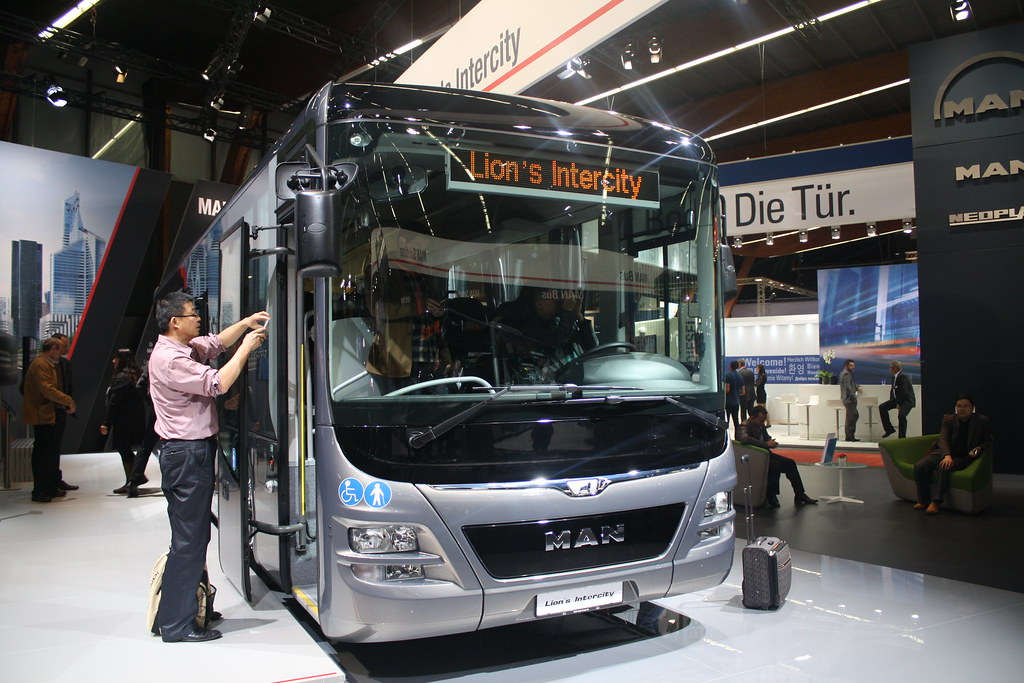 BusWorld 2015  MAN Lion's Intercity.