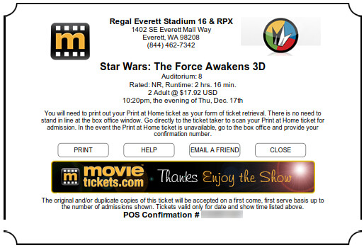 The Force will awake on Dec 17...