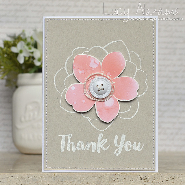 Thank You Flower 2 by Lucy Abrams