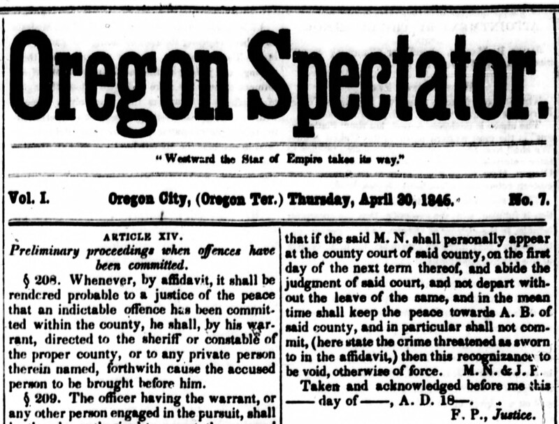 historic oregon newspapers preserving history while shaping the