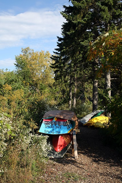 Boats / Canoes at Kiwanis Landing