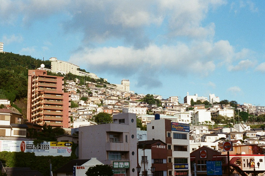 宝町 長崎 Nagasaki 2015/09/08 宝町  Nikon FM2 Nikon AI Nikkor 50mm f/1.4S Kodak UltraMax ISO400 Photo by Toomore