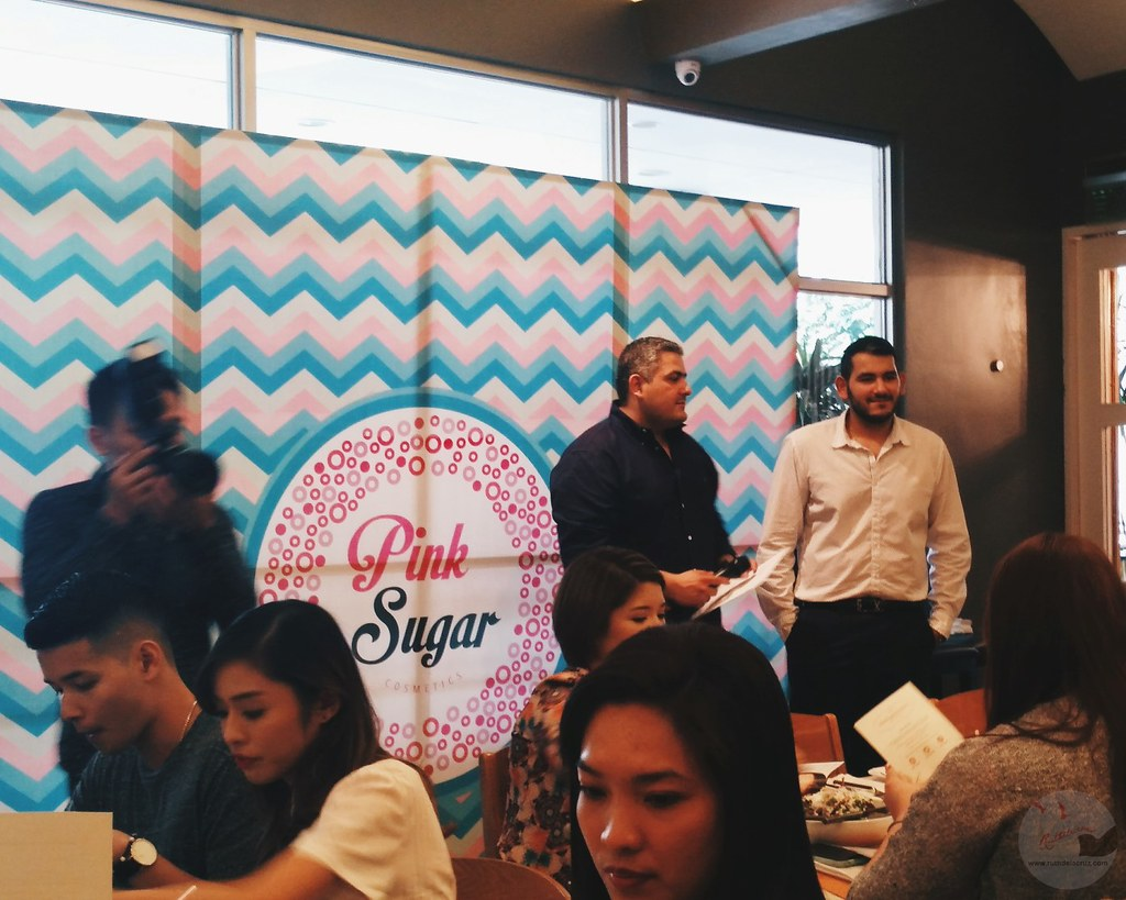 pink sugar cosmetics philippines launch