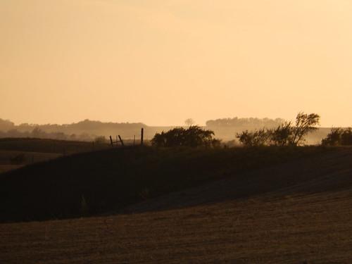 South Dakota - I90 bij sunset - 1