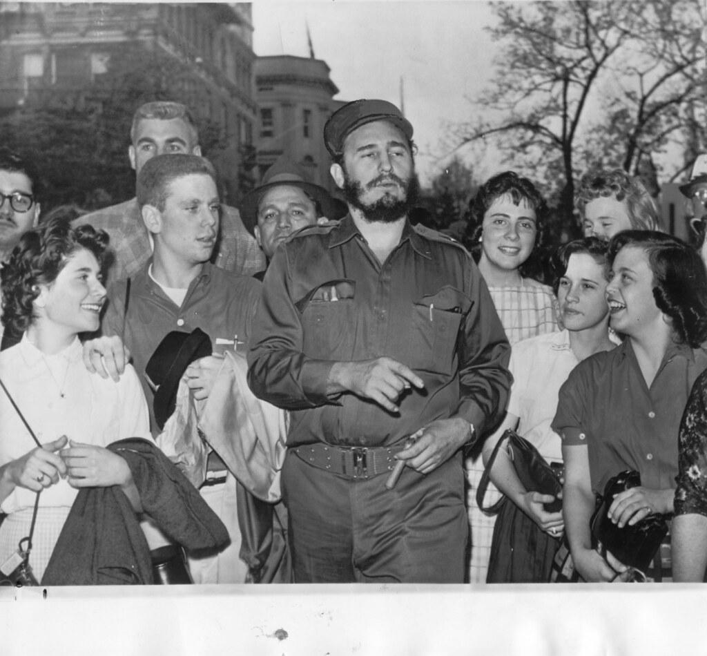 4208 Embassy Park Dr Nw Washington: Fidel Castro In Washington, DC: 1959