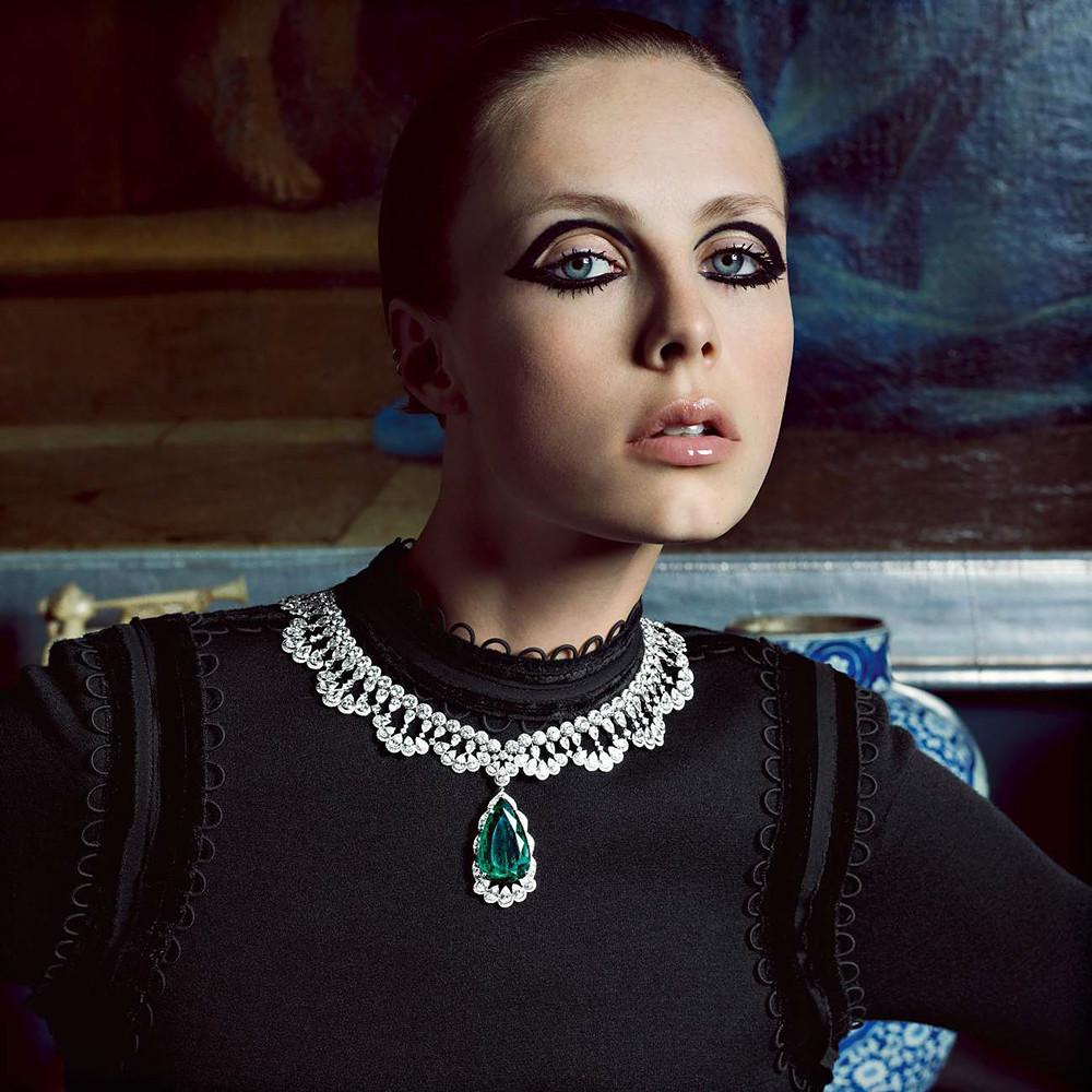 Эди Кэмпбелл — Фотосессия для «Vogue» FR 2015 – 5